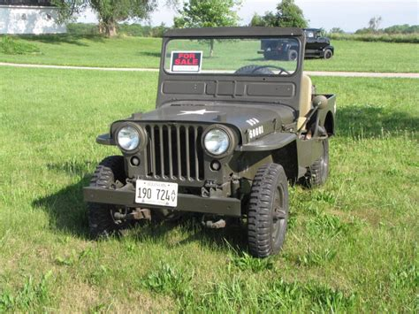 willys jeep for sale 1952 jeep willys for sale