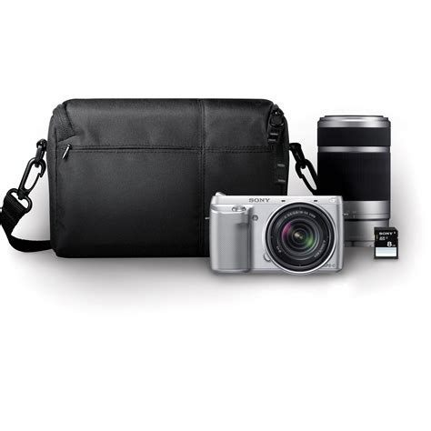 Jual Lensa Sony Nex 55 210mm sony alpha nex f3 mirrorless digital nexf3k sbdl b h