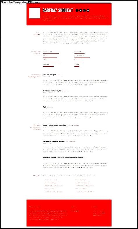 Html5 resume template free 28 images 41 html5 resume templates cv responsive html5 resume template free responsive html5 css3 resume template sle templates yelopaper Images