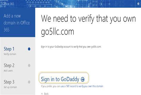 Office 365 Login Portal Godaddy Office 365 Login Godaddy