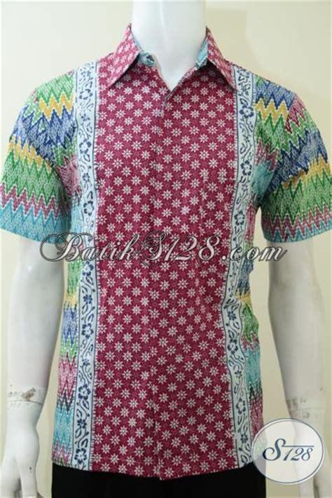 design batik untuk anak muda hem kemeja batik cerah motif rangrang truntum bagus untuk
