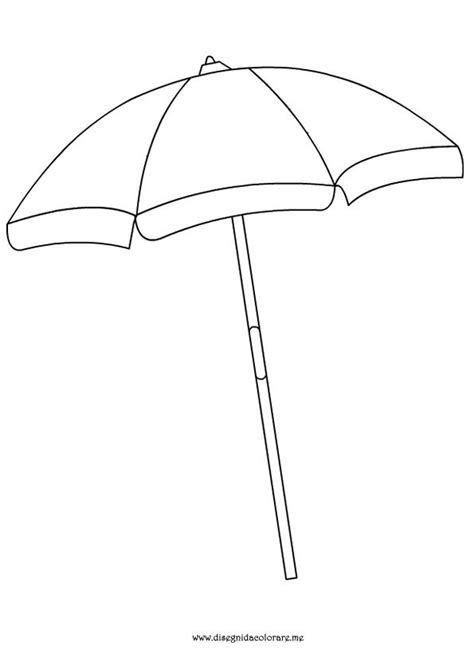 umbrella pattern to color beach umbrella coloring page summer pinterest