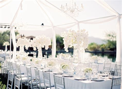 all white decor wedding with an all white d 233 cor