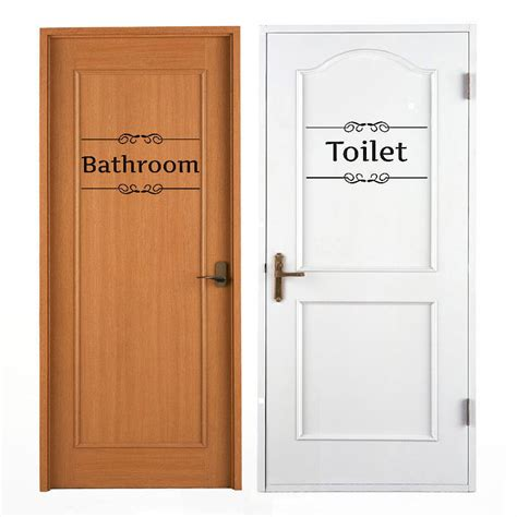 bathroom and toilet door signs online get cheap toilet door signs aliexpress com