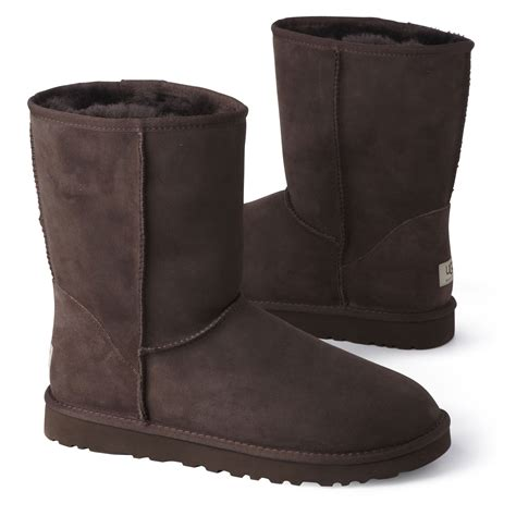 ugg boots for ugg chocolate boots in brown for lyst