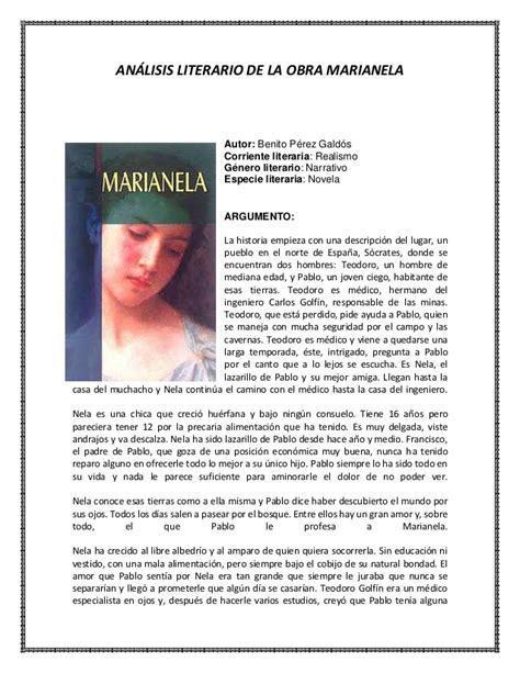 analisis imagenes figurativas realistas an 225 lisis literario de la obra marianela