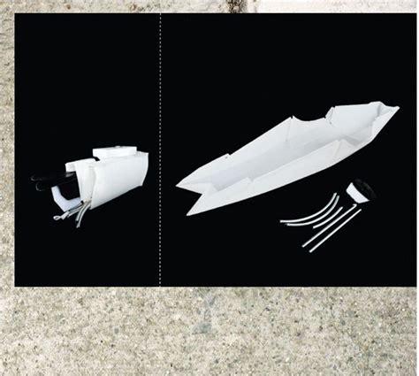 Origami Kayak - origami kayak inspiring design references