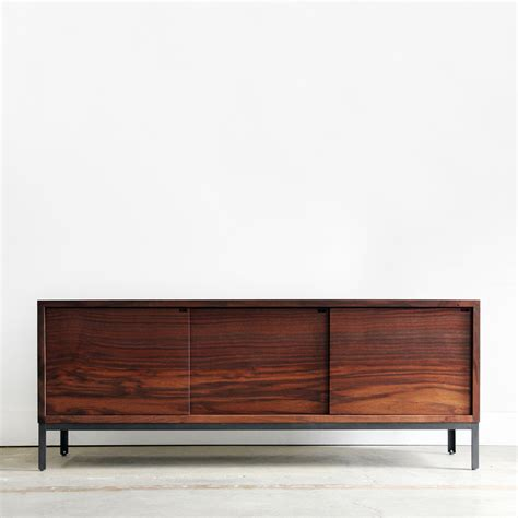 chadhaus farmhouse modern credenza brown