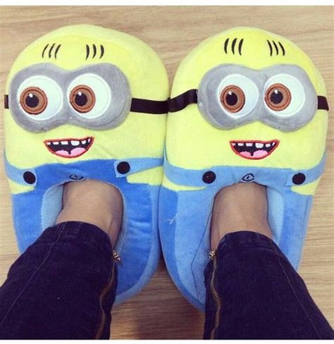 minion house shoes related keywords suggestions for minion slippers