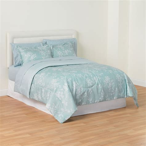essential home spa floral comforter set kmart