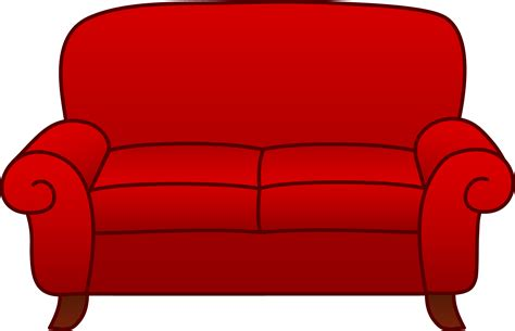 Livingroom Cartoon by Sofa Cliparts
