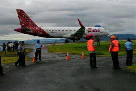 batik air ambon jakarta diteror bom 131 penumpang pesawat batik air diteror bom
