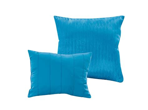 ocean blue comforter sets 8 piece aubree pinched pleat ocean blue comforter set