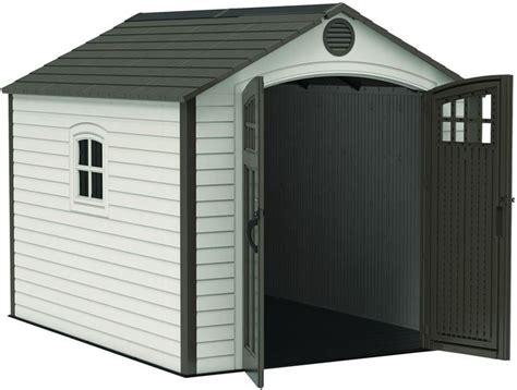 lifetime  storage shed kit  corner trims