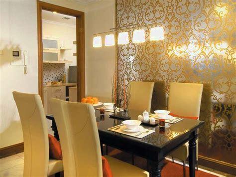 wallpaper dinding ruang makan wallpaper solusi praktis menata ruang makan