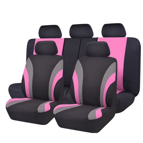 split seat covers universal car seat covers pink for seat covers