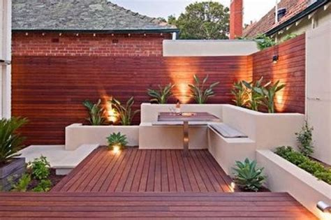 imagenes de jardines minimalistas pequeños dise 241 os de patios y jardines minimalistas 11