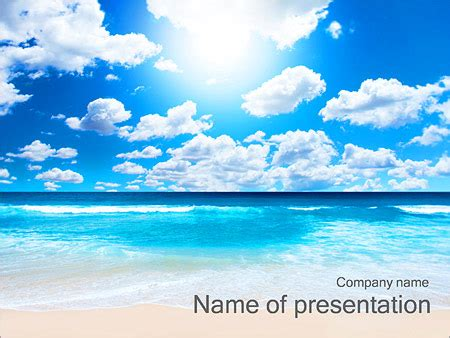 beautiful themes for powerpoint 2010 beautiful beach powerpoint template backgrounds id