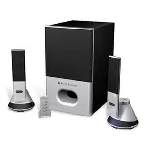 Attractive Computer Speakers Altec Lansing Vs4221 2 1 Speaker Sleek And Beautiful