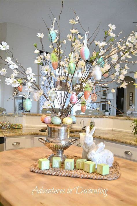 easter decorations to make for the home 19 beautiful diy easter centerpiece ideas style motivation