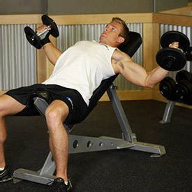 incline bench flyes incline dumbbell flyes exercise guide and video
