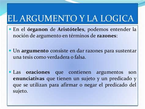 el ltimo argumento de el argumento y la logica