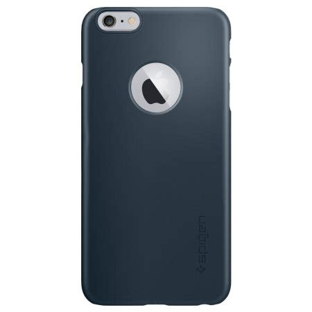 Spigen Thin Fit For Iphone 6 6s Metalic spigen thin fit a iphone 6s plus 6 plus shell metal slate mobilezap australia