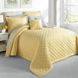 Yellow Quilts And Coverlets A Yellow Bedspread Adds To Any Room Even On