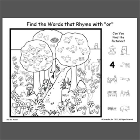 Words That Rhyme With Door by Find The Words That Rhyme With Quot Or Quot