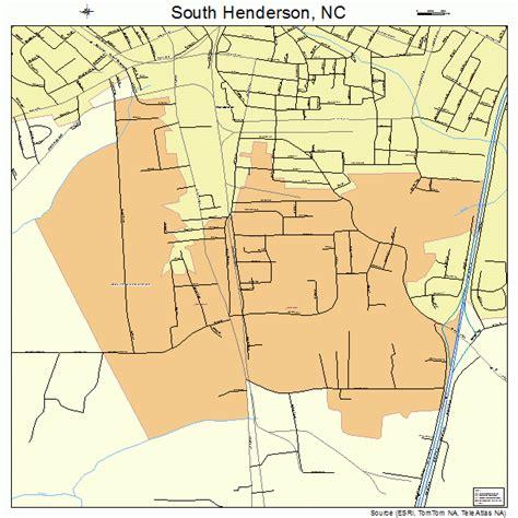 south henderson carolina map 3763240