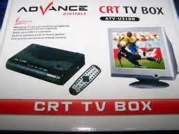 Tv Tuner Merk Advance tv box crt advance new