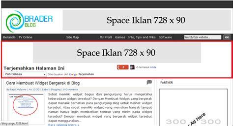 membuat kolom header di html cara membuat kolom widget di bawah header blog tanah air