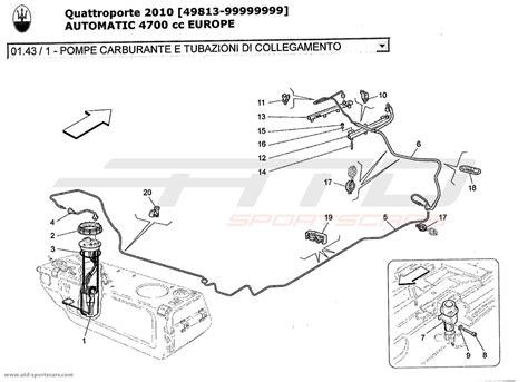 car maintenance manuals 2010 maserati quattroporte spare parts catalogs service manual 2010 maserati quattroporte secondary air injection system repair buy maserati