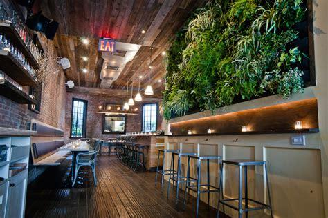 Vertical Garden Restaurant Inside Out Vertical Gardens In Restaurants Are Climbing
