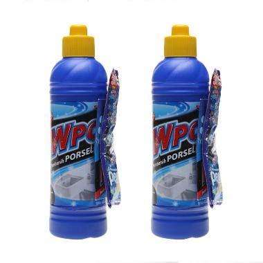 Tablet Biru Pembersih Penyegar Kloset Kq21 jual wpc biru pembersih porselen botol 400 ml x 2 pcs harga kualitas terjamin