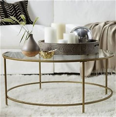 glass coffee table decor glass coffee table round gold living room furniture