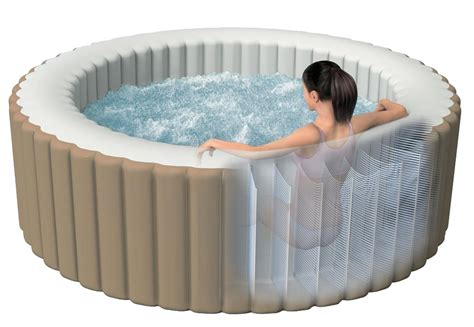 bathtub hot our guide to the intex inflatable hot tub hot tubs for you