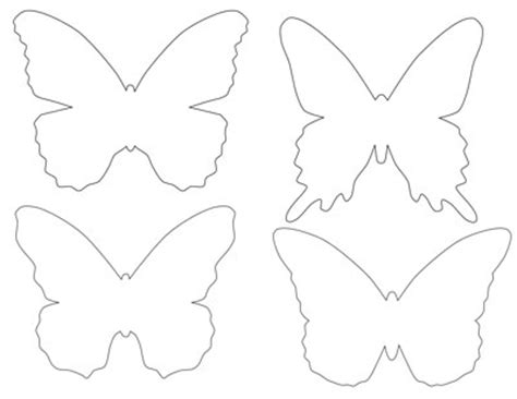 free butterfly templates printable butterfly template babytalk bungalow