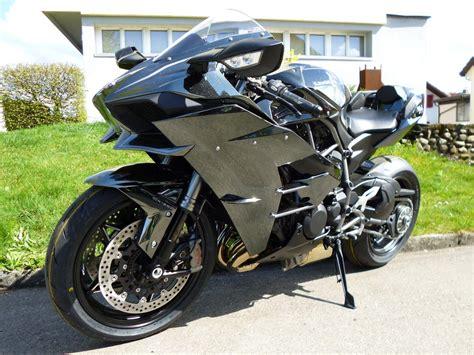 Motorrad Auspuff Kawasaki by Motorrad Occasion Kaufen Kawasaki H2 Abs Akrapovic