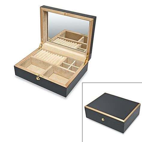 jewelry box bed bath and beyond charcoal gray jewelry box bed bath beyond