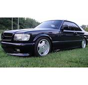 How Many AMG 60 4V W126 SEC And SEL Cars Were Built