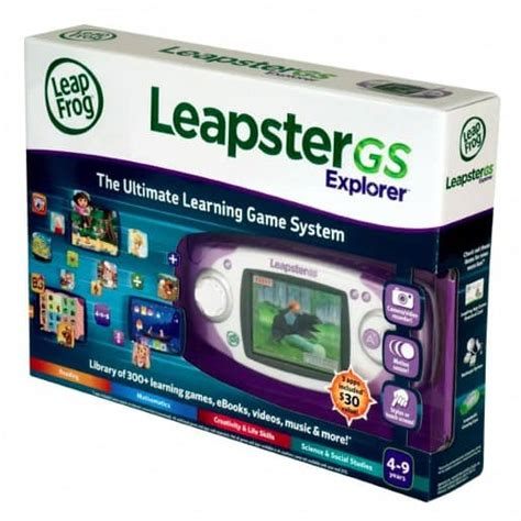 leapster gs black