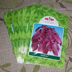 Benih Bawang Merah Terbaik jual benih bayam merah mira small pack kualitas terbaik