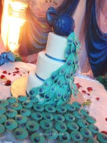 Great ideas for the busy little bride peacock themed wedding cakes