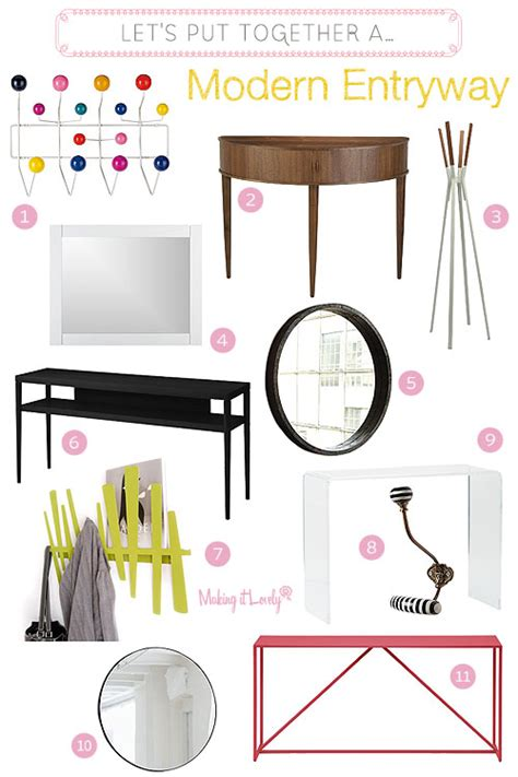 lets put   modern entryway making  lovely
