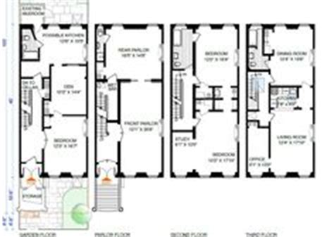 brownstone row house floor plans brownstone row house floor plans google search