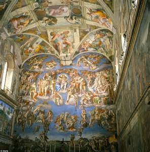Pin sistine chapel ceiling on pinterest