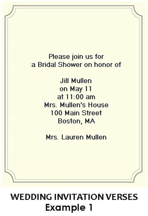 proper wording for bridal shower invitations bridal shower invitation wording exles