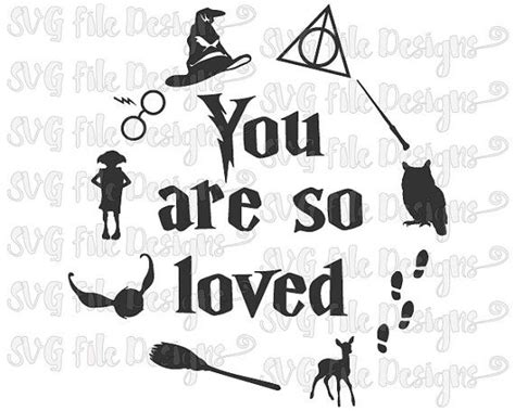 for so loved you books 54 best harry potter shirt decal svg cutting files