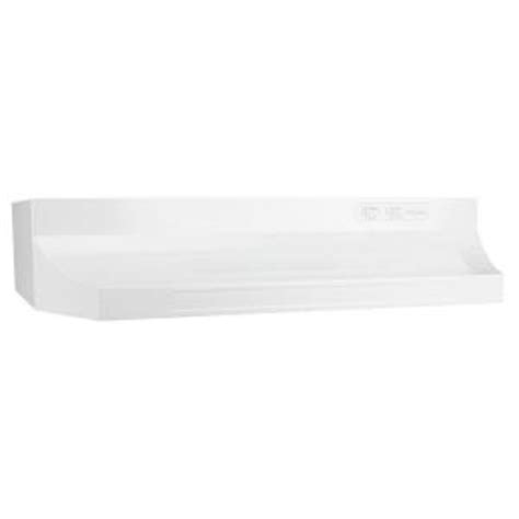 nutone rl6300 30 in range in white rl6330wh the